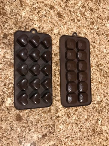 Small candy molds